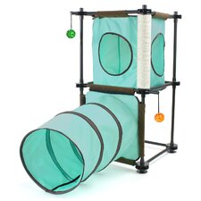 "31"" Steel Claw Passage Cat Tree"