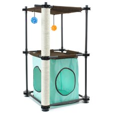 "32"" Steel Claw Fortress Steel Cat Tree"