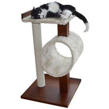 Modern Cat Activity Tree & Scratching Post