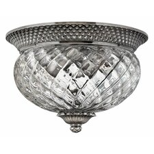 Plantation Flush Ceiling Light