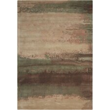 Luster Wash Beryl Wash Light Green Area Rug