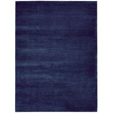 Lunar Klein Blue Area Rug