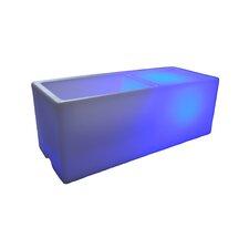 Wireless Illuminated Rectangular Ice Bucket
