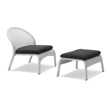 South Chair and Ottoman with Cushions (Set of 2)