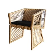 Borneo Dining Arm Chair with Cushion