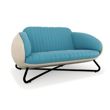 Circle Loveseat with Cushions