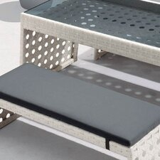 Happy Hour Resin Wicker Dining Bench