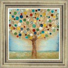 Gerahmter Kunstdruck Tree of Light von Tava Studios