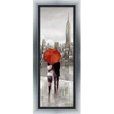 Gerahmter Kunstdruck New York Stroll von Ruane Manning