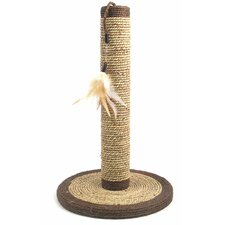 Seagrass Feather Sisal Scratching Post