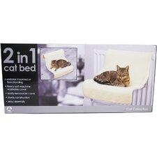 Katzenbett Luxury 2-in-1