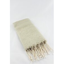 Fouta Honeycomb Stripe Bath Towel