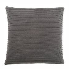 Pleated Knit Throw Pillow