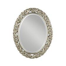 Ovaler Spiegel Leaves