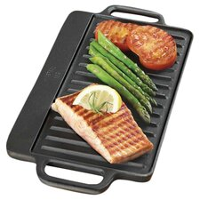 Pre-Seasoned Reversible Grill Pan & Griddle