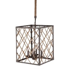 Shale 4 Light Foyer Pendant