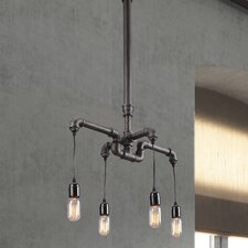Sofiite 4 Light Kitchen Island Pendant