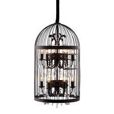 Canary 12 Light Ceiling Drum Chandelier