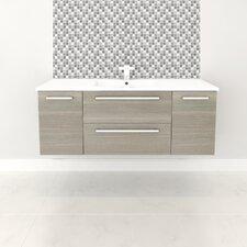 "Silhouette 48"" Single Bathroom Floating Vanity Set"