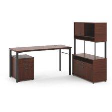 Manage L-Workstation Desk Office Suite
