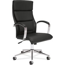 VL105 Leather Executive High-Back Chair