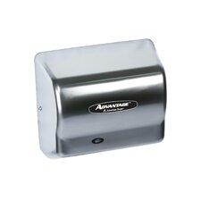 Advantage Standard 100 - 240 Volt Hand Dryer in Stainless Steel