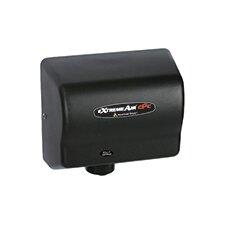 Adjustable High Speed 100 - 240 Volt Hand Dryer in Black