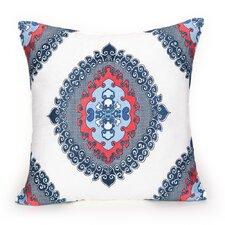 Coastline Ikat Decorative Cotton Throw Pillow