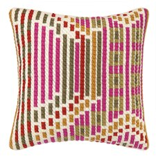 Madera Bargello Throw Pillow