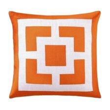 Palm Springs Blocks Linen Throw Pillow