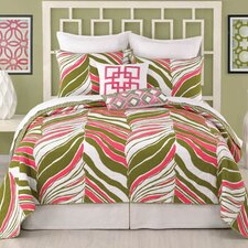Tiger Leaf Coverlet