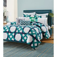 Pacifica Pier Lattice Duvet Set