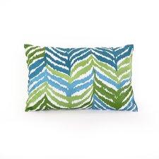 Ventura Ikat Cotton Throw Pillow