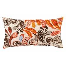 Paisley Linen Lumbar Pillow