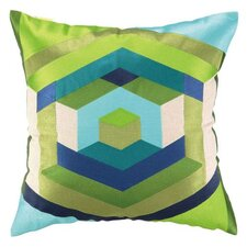 Hexagon Linen Throw Pillow