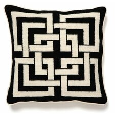 Shanghai Links Linen Throw Pillow
