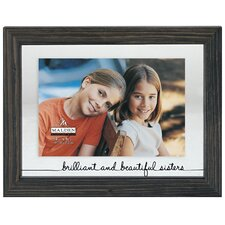 Brilliant Sisters Float Picture Frame