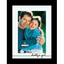 Daddy's Girl Float Picture Frame