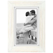 White Wash Linear Picture Frame