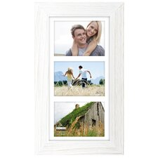 Rough White Manhat Picture Frame