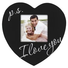 P.S. I Love You Heart Picture Frame