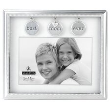 Mom Metal Charms Picture Frame