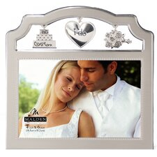 Wedding Metal Charms Picture Frame