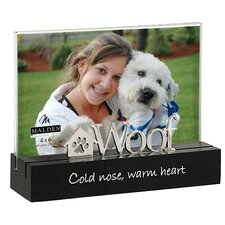 Desktop Expressions Woof Picture Frame