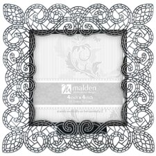 Sabella Lace 4'' x 4'' Picture Frame