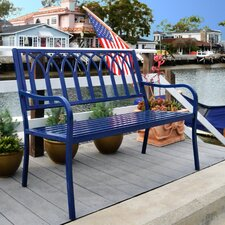 Lakeside Steel Garden Bench