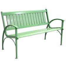 Contemporary Aluminum Garden Bench