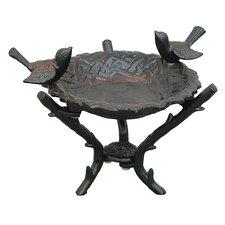 New Bird Nest Tabletop Birdbath
