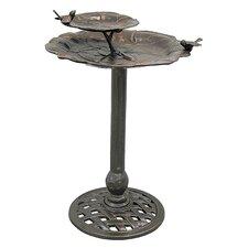 2-Tier Lily Pad Birdbath