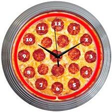 """15"""" Pizza Neon Clock"""